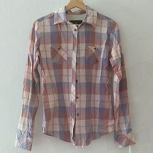 Vintage women's button up shirt